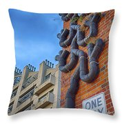 One Way To A Wrong Turn Throw Pillow