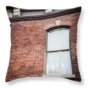 One Window In Color Throw Pillow