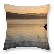 One With Nature 1 Throw Pillow