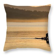 One With Nature 2 Throw Pillow