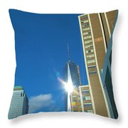 One World Trade Center Throw Pillow by Dan Sproul