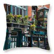 O'neill's Pub Throw Pillow