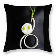 Onion Baby Throw Pillow