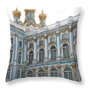 Onion Domes - Katharinen Palace - Russia Throw Pillow
