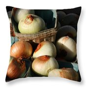 Onions 2 Throw Pillow
