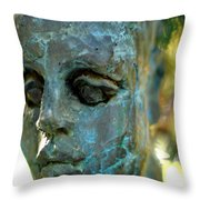 Only A Face Throw Pillow