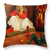 Only A Fairy Tale  Throw Pillow