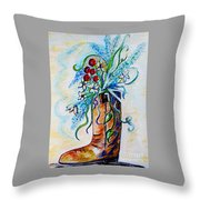 Only A Woman Throw Pillow