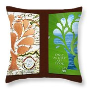 Only As Much As I Dream Series Throw Pillow