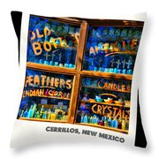 Only In Cerrillos Throw Pillow