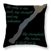 Only In God Throw Pillow