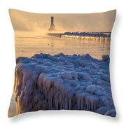 Only In Port Throw Pillow