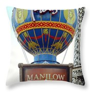 Only In Vegas Throw Pillow