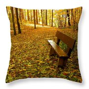 Only Lovers Are Missing Throw Pillow