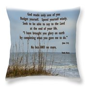 Only One Of Me Throw Pillow