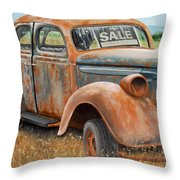 Only One Owner Throw Pillow