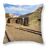 Only The Echoes Now Throw Pillow