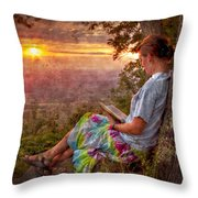 Only The Heart May Know Throw Pillow