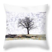 Only The Lonely Throw Pillow