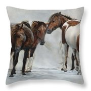 Only The Strong Survive II Throw Pillow