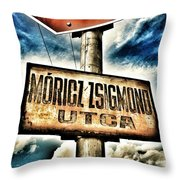 Only The Time Goes By... Throw Pillow