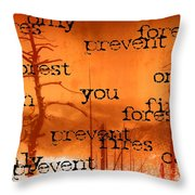Only You Can 2 Throw Pillow