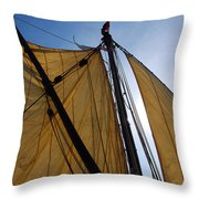 Onrust Throw Pillow
