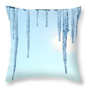 Ontario Freeze Throw Pillow