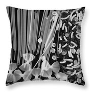 Oodles Of Noodels #4 Throw Pillow