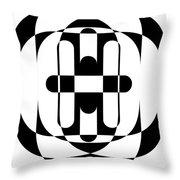 Op Art 5 Throw Pillow
