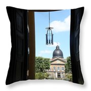 Open Church Door - Macon Throw Pillow