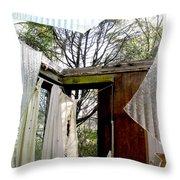 Open House Throw Pillow