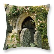 Open Paths Throw Pillow