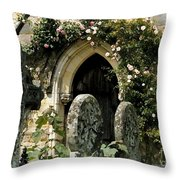 Open Paths II Throw Pillow