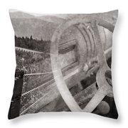 Open Road Throw Pillow by Edward Fielding