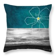 Open Spaces Throw Pillow by Linda Woods