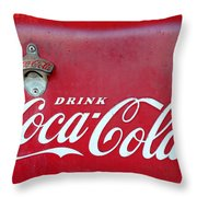 Open The Real Thing Throw Pillow