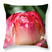 Open To A New Day Throw Pillow