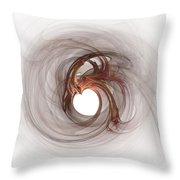 Open To Love Fine Fractalart Throw Pillow