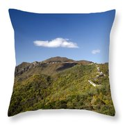 Open View 2 Of The Great Wall Mutianyu Section 603 Throw Pillow