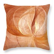 Open Your Mind Throw Pillow