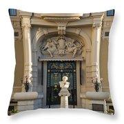 Opera De Monte-carlo Throw Pillow