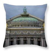 Opera Garnier Throw Pillow
