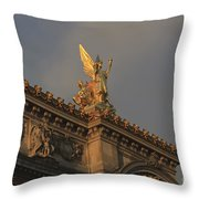 Opera Garnier In Paris France Throw Pillow