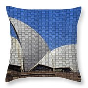 Opera House 4 Throw Pillow