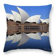 Opera House 6 Throw Pillow