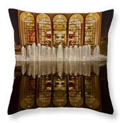 Opera House Reflections Throw Pillow