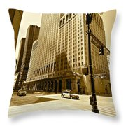 Opera Is Alive On Carol Fox Drive Throw Pillow