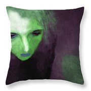 Ophelia Condemned Throw Pillow