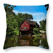 Opie's Grist Mill Throw Pillow